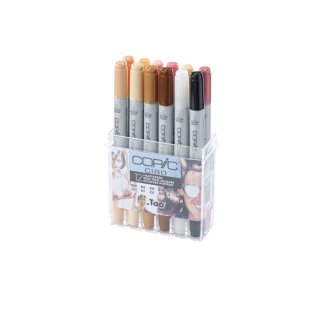 Copic Ciao Marker 12er Set Hautfarben