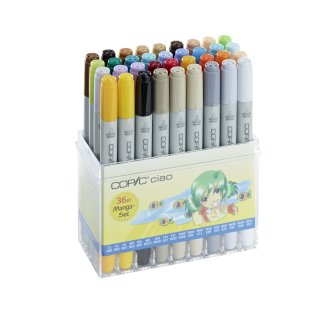 Copic Ciao Marker 36er Manga Set