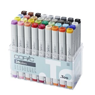Copic Marker 36er Basis-Set