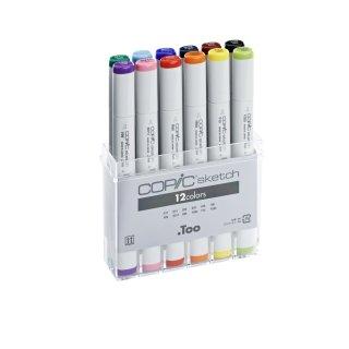 Copic sketch Marker 12er Set B