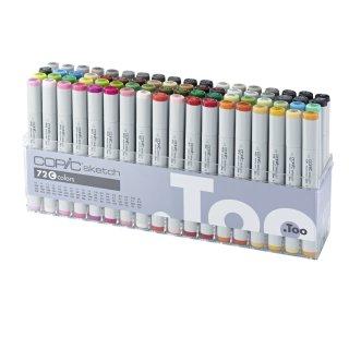 Copic sketch Marker 72er Set C