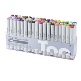 Copic sketch Marker 72er Set D