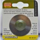 Proxxon Hartmetall-Sägeblatt (Vollmaterial)