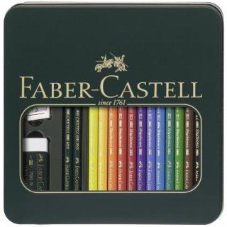 Faber-Castell Geschenketui Mixed Media Polychromos CASTELL 9000