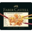Faber-Castell Polychromos Künstlerfarbstifte Metalletui...