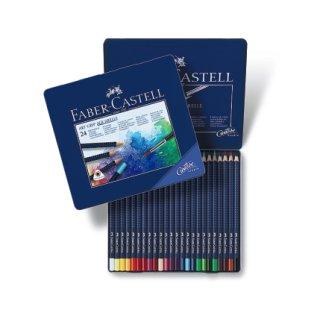 Faber-Castell Art Grip Aquarellstifte 24er Metalletui
