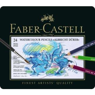 Faber-Castell Albrecht Dürer Künstlerfarbstifte Metalletui mit 24 Stiften
