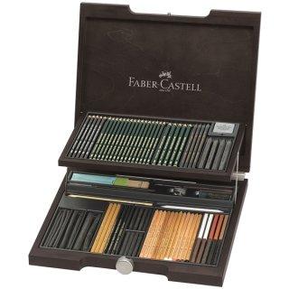 Faber-Castell Holzkoffer PITT Monochrome Sortiment