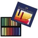 Faber-Castell STUDIO Softpastellkreide Kartonetui mit 24...