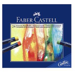 Goldfaber Ölpastellkreide Kartonetui mit 24 Farben