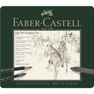 Faber-Castell Set PITT Graphite medium Metalletui