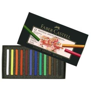 Faber-Castell Polychromos Pastellkreide 12er im Kartonetui