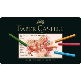 Faber-Castell Polychromos Pastellkreide 60er Metalletui