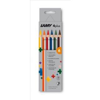 Lamy 4plus, Modell 525 Farbstifte 6er Set Faltschachtel