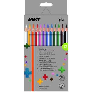 Lamy plus Farbstifte, 12er Set Faltschachtel