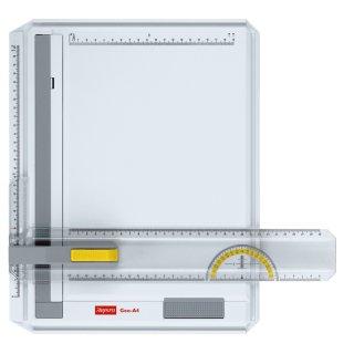 Aristo Zeichenplatte DIN A4 -GEO- Inkl. Aristo Schnell-Zeichendreieck AR7090 im Wert von 6,95 EUR gratis
