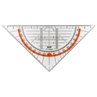 Aristo Geometriedreick GEOCollege 160mm  mit Griff