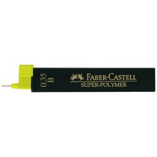 Faber Castell Super Polymer Feinminen, 12 Minen / 0,35 mm