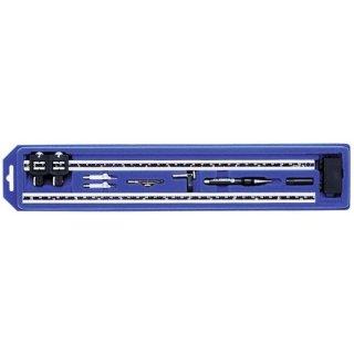 Ecobra 2-teiliger Alu-Stangenzirkel für Arbeiten bis 1270 mm Durchmesser